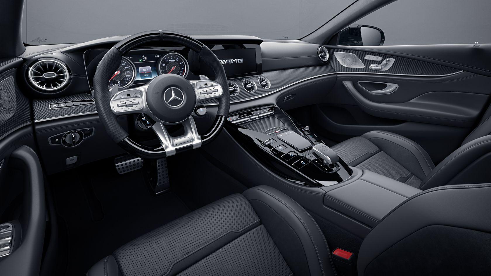 6 Passenger Vehicles >> Mercedes-Benz GT 4-Door Coupé - equipment