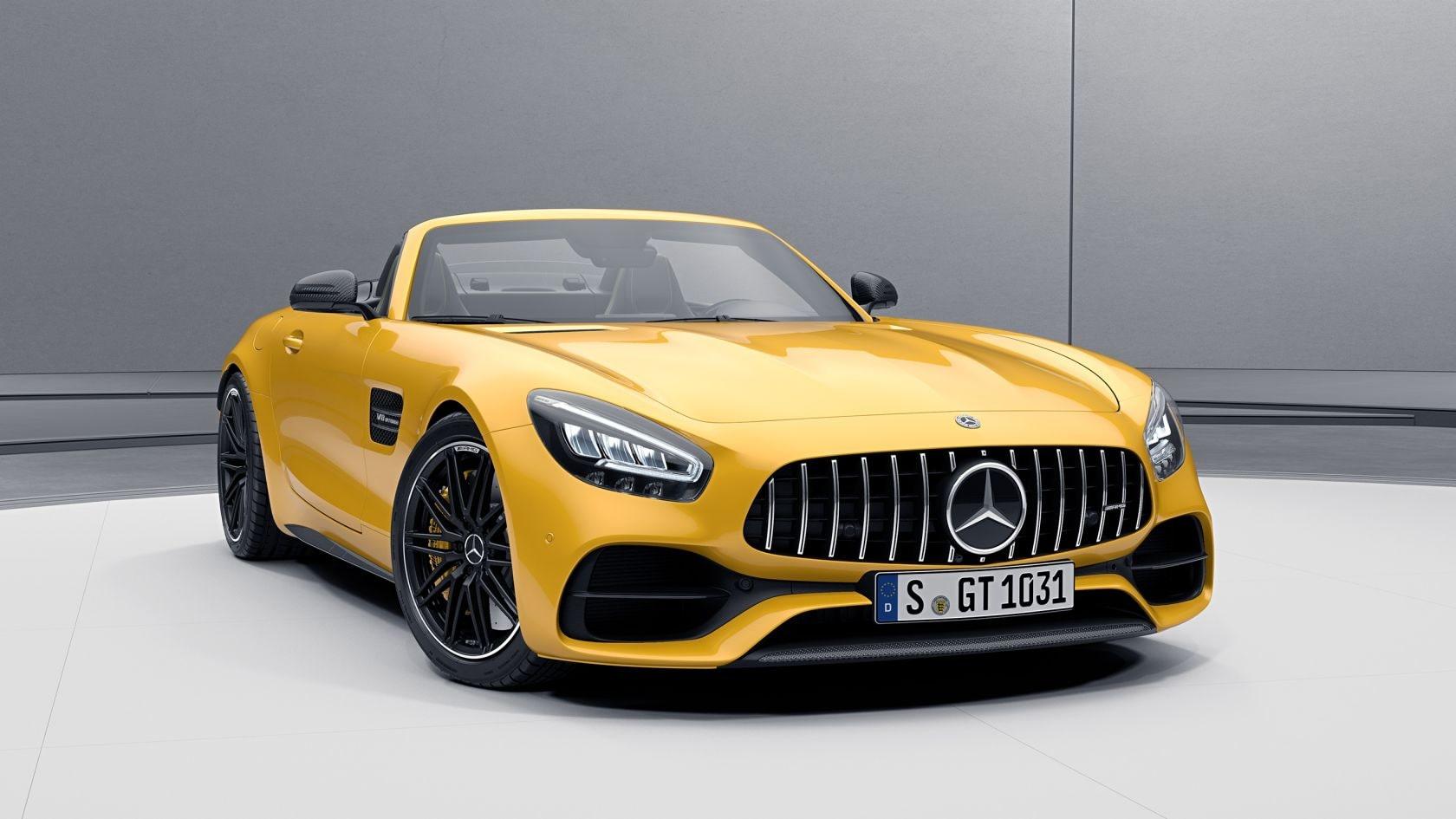 Mercedes Amg Gt Roadster Amg Exterior Carbon Fibre Package