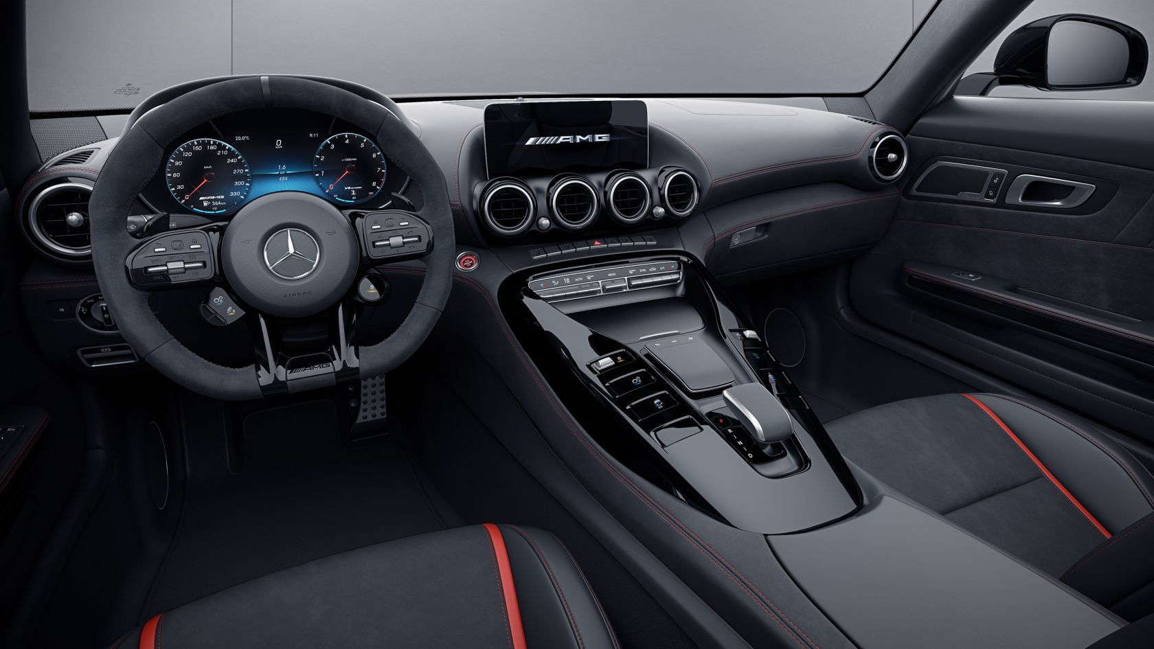 Mercedes Amg Gt Roadster Amg Interior Night Package