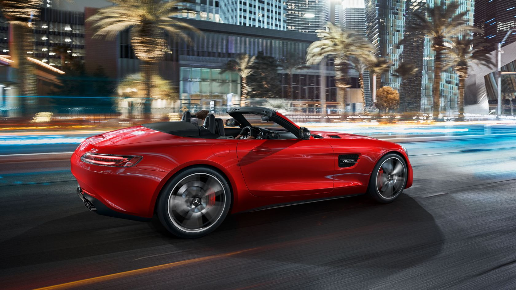 Mercedes Amg Gt Roadster Design