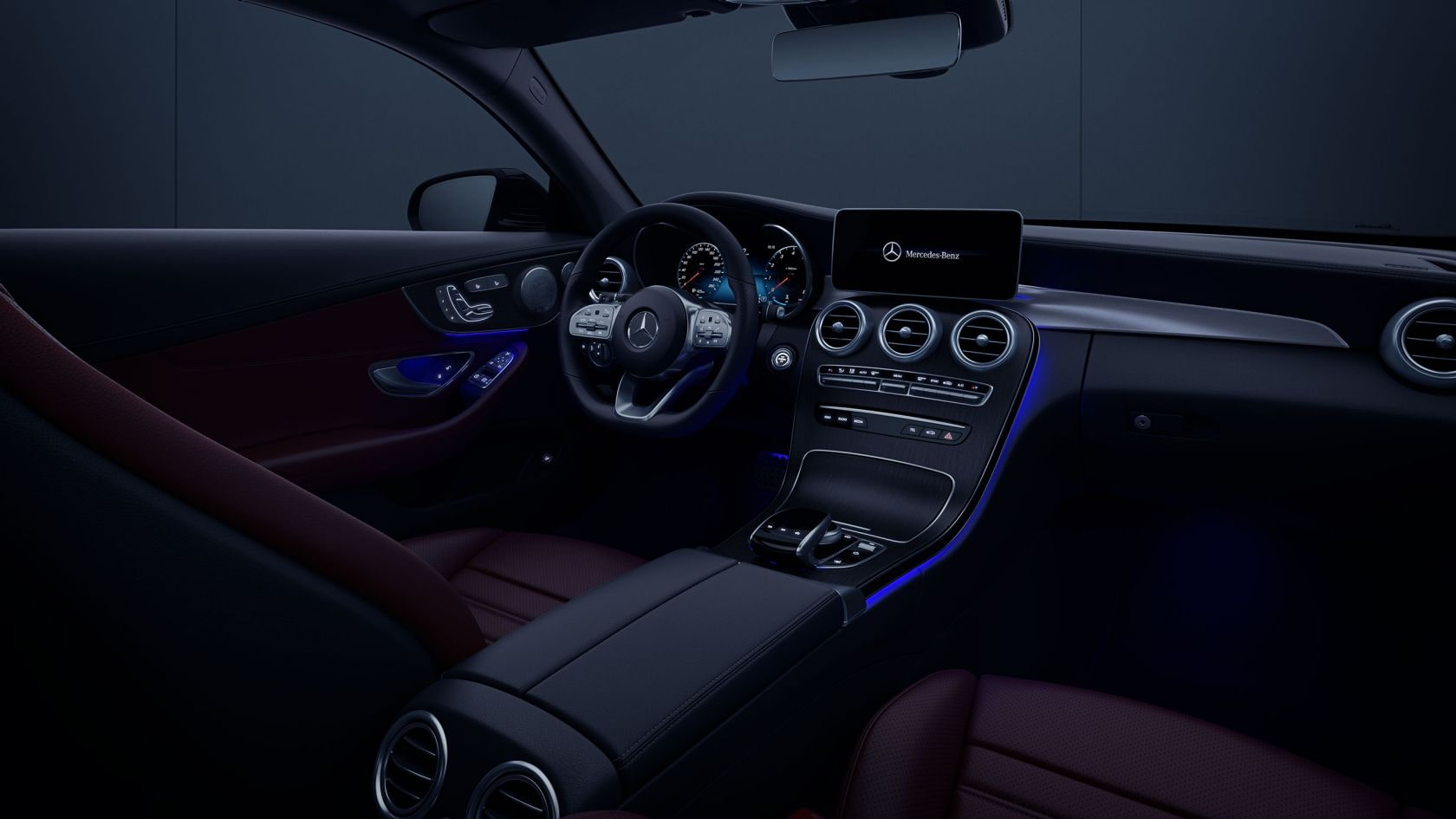 Mercedes Benz C Class Coupe Interior Light Package